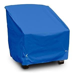 KoverRoos Weathermax 09801 深座餐椅套,68.58 cm 宽 x 78.74 cm 直径 x 78.74 cm 高,太平洋蓝
