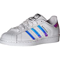adidas Originals Unisex-Kinder Superstar Sneaker, Cloud White Real Pink Real Pink, 36 EU