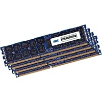 OWC 128GB (4X 32GB) 1333MHz 240-Pin DDR3 SDRAM DIMM (PC3-10600) 内存升级套件 适用于 2013 Mac Pro