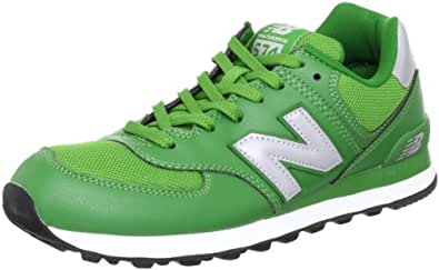 New Balance 男 休闲运动鞋 ML574GC 綠茶色,銀,黑 40