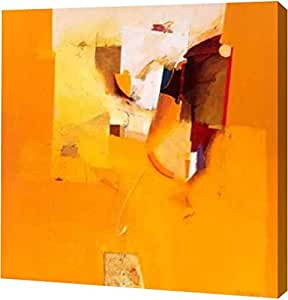 """PrintArt 的""""Yellow One""""由 Theo den Boon 创作画廊装裱艺术微喷油画艺术印刷品 20"""" x 20"""" GW-POD-40-GA01_16143-20x20"""