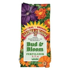 Kellogg Supply 8652 4LB Bloom Fertilizer 4 lb