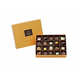 GODIVA 歌帝梵 金装品鉴系列巧克力礼盒20颗装 225g(比利时进口)(供应商直送)