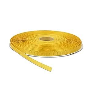 """罗缎丝带 深黄色 1/4"""" x 50 yards CG1016"""