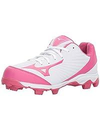 Mizuno (MIZD9) 9-Spike 高级 Finch Franchise 7 女式快投垒球鞋钉鞋