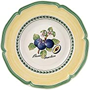 Villeroy & Boch 德国唯宝 法式花园 Valence 汤盘 优质搪瓷,23cm,白