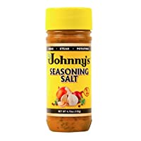 Johnny's Seasoning Salt, 4.75 Ounces, Pack of 6