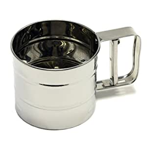 Chef Craft Classic 3-Cup Stainless Steel Flour Sifter