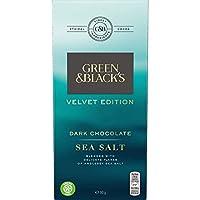 Green & Black's 海盐黑巧克力块,90克,9包