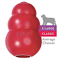 KONG Classic KONG Dog Toy, Red