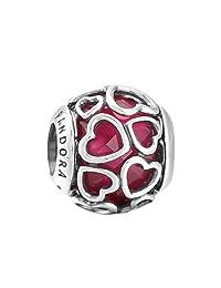 Pandora 潘多拉 丹麦品牌 樱桃红缠绕的爱925银串饰792036NCC