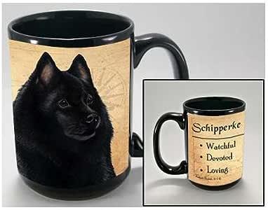 MY FAITHFUL FRIENDS COFFEE CUP MUG PET DOG 礼物 SCHIPPERKE 15 盎司 unknown