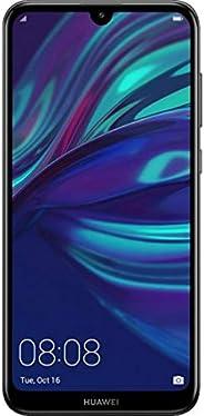 华为 Y7 Pro 2019 4G LTE (Dub-LX2) 3GB / 32GB 双摄像头 6.26 英寸双 SIM 卡工厂解锁 - 国际库存无保修(午夜黑色)