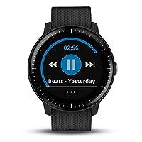 【12.12大促 送佳明原装皮表带】GARMIN 佳明 vivoactive3 Music 音乐版 光电心率GPS双星跑步骑行游泳触屏运动离线音乐快捷支付手表(顺丰包邮)