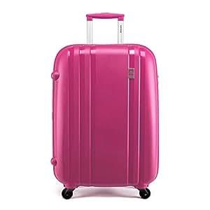 Delsey 法国大使849 PP ZIPPE 万向轮拉杆箱 旅行箱 行李箱 粉红色 28寸