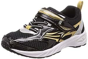 [瞬足] 运动鞋 上学用鞋 瞬足 大型钉鞋 轻量 V8 男孩 SJC 6210 黑色 17 cm 2.5E
