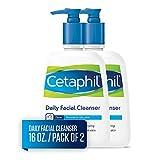 Cetaphil 丝塔芙 日常清洁洗面奶  中性肌肤和油性适用 16 Ounce (2个装)
