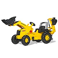 Rolly Holland Construction Tractor Frontloader 后挖掘机