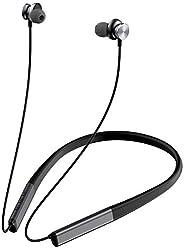 Betron SN90 無線耳塞,藍牙防汗入耳式耳機帶麥克風。 音量控制,3 對耳塞,適用于跑步、鍛煉、健身和運動,黑色
