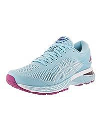 ASICS 女式 gel-kayano 25跑步鞋 Skylight/Illusion Blue 7.5 B(M) US
