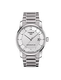 Tissot 天梭 瑞士品牌 钛系列 机械男士手表 T087.407.44.037.00