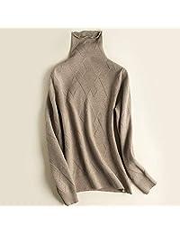 唐岚 秋冬毛衣女高领加厚短款修身长袖翻领羊毛针织衫打底衫韩版宽松