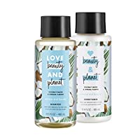 Love Beauty And Planet 洗发水和护发素 Coconut Water & Mimosa Flower 13.5 ounce, 2 Count