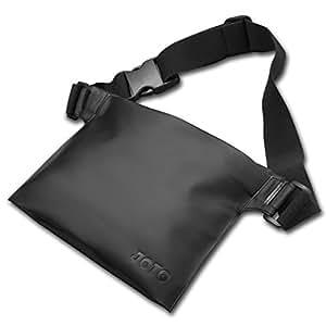 JOTO 防水保护套袋适用于海滩、游泳、划船、钓鱼、保护您的手机、相机、现金、钱包、水上护照4326539296 黑色