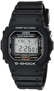 """Casio 卡西欧 男士 DW5600E-1V """"G-Shock""""系列 经典电子手表"""