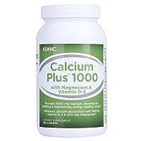 GNC 健安喜 高含量钙 1000mg*180片(美国进口)(包税)