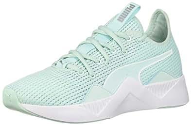 PUMA 女士 Incite 运动鞋 Fair Aqua-puma White 11