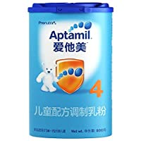 Aptamil 爱他美 4段儿童配方调制乳粉(36-72个月) 800g(德国原装进口)