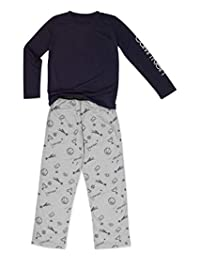 Calvin Klein 2 件涤纶/平纹男孩长袖衬衫