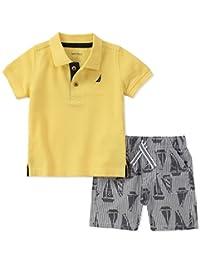 Nautica 男童波罗衫和短裤