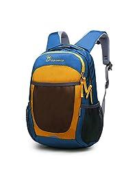 Mountaintop 男童女童校园野营儿童背包 Blue2