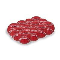 PowerNet Foam-Tech 实用训练球   棒球尺寸   防凹中*缓冲泡沫结构   保暖的Ups 和击球练习   室内外*训练