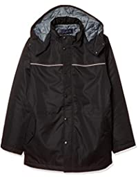[蜻蜓学生服] 蜻蜓学生服 轻巧温暖的尼龙制 风衣外套 深蓝 男款 T-22-1
