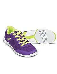 KR Strikeforce 女式蕾丝保龄球鞋 - 紫色/黄色