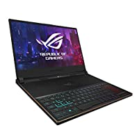 ASUS 华硕 ROG Zephyrus S超薄游戏笔记本电脑,15.6英寸144Hz IPS类型全高清,GeForce RTX 2080,Intel Core i7-8750H CPU,16GB DDR4、512GB PCIe Nvme SSD,Aura Sync RGB,Windows 10 Pro-GX531GX-XS74