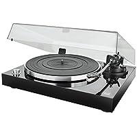 双DTJ USB DJ电唱机(33/45转/分,音高控制,磁性拾音系统,磁针发光,USB)Dual DT 500 USB  Holzgehäuse