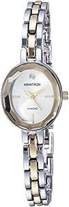 Armitron 女式 75/5508SVTT 双色手链手表