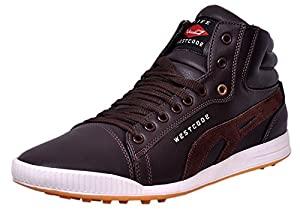 West Code Mens Casual Shoes 801-BROWN