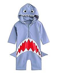 幼童泳装男宝宝泳装连体*服婴儿*泳衣