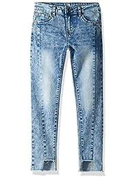 7 For All Mankind 儿童女式修身弹力牛仔裤,真的太阳能(大童款)