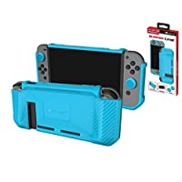 Premium Protective Case for Nintendo Switch Console TPU Anti-Shock/Anti-Slip Cover Case with Comfort Handles and Silicone Grips for Joy-Con