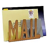 "Ares Metal 桌面镂空""邮件""信封和信箱收纳架 15cm x 10cm x 5.5cm 金色"