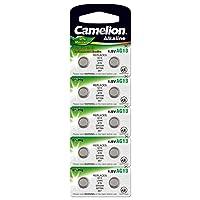 Camelion 飞狮 12051013 AG 13 LR44 电池 - 多色(每组 10 件)