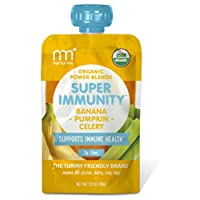 NurturMe Power Blends 婴儿袋装食品,香蕉+南瓜+芹菜,每包约100克,12包装