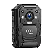 CammPro 1296P高清警用车身摄像头 64G内存 防水2英寸显示屏的车身磨损摄像头