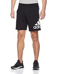 adidas 阿迪达斯 男式 运动基础系列 针织短裤 CD8268 黑 ESS CHLSEA B LO